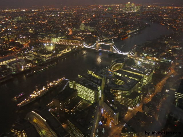 The View From The Shard London Tower Bridge Night