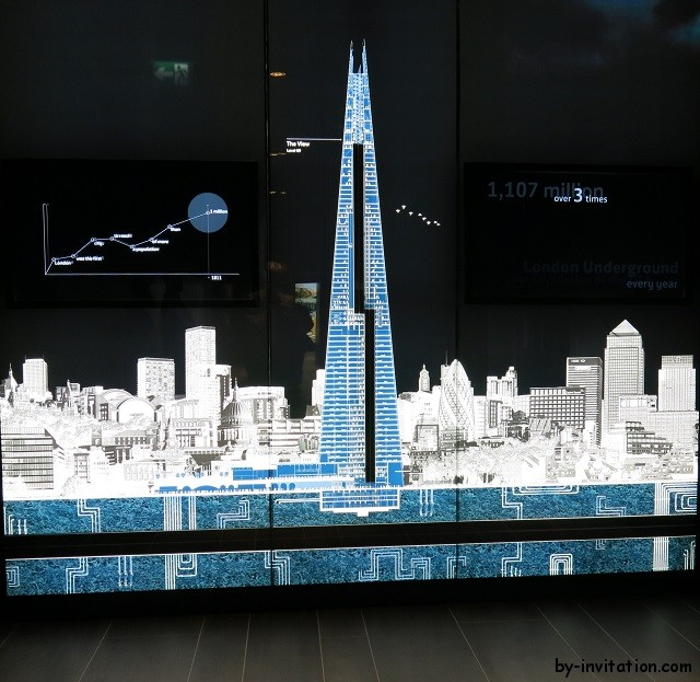 The View From The Shard Schematic