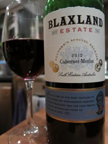 Blaxland Estate Cabernet Merlot 2012