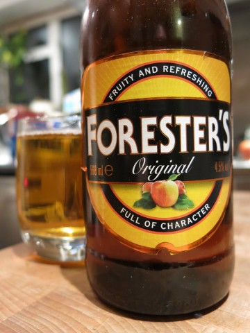 Foresters Original Cider