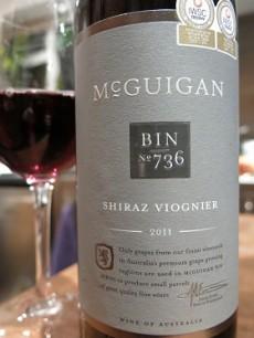 McGuigan South Eastern Australia Shiraz Viognier 2011
