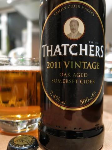 Thatchers 2011 Vintage Oak Aged Somerset Cider