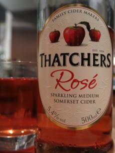 Thatchers Rosé Sparkling Medium Somerset Cider