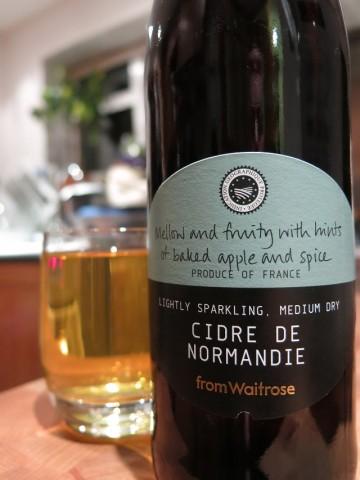 Waitrose Cidre De Normandie 2011 Vintage