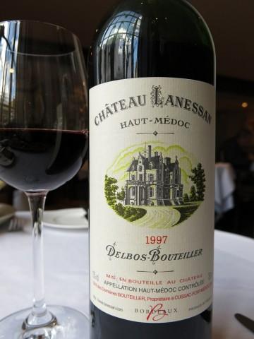 Chateau Lanessan Haut Médoc Delbos Bouteiller 1997