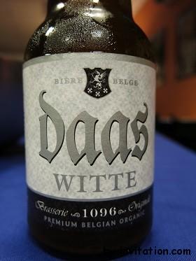Daas Witte Organic Belgium Beer