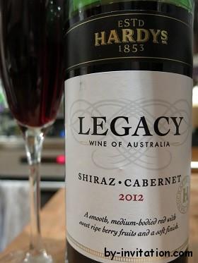 Hardys Legacy Shiraz Cabernet 2012