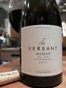 Le Versant Merlot Pays d'Oc 2011 Les Vignobles Foncalieu
