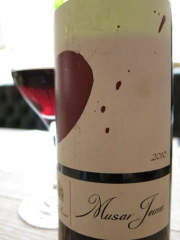 Musar Jeune 2010 Bekaa Valley Lebanese Wine