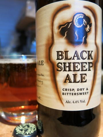 Black Sheep Ale, Crisp Dry and Bittersweet