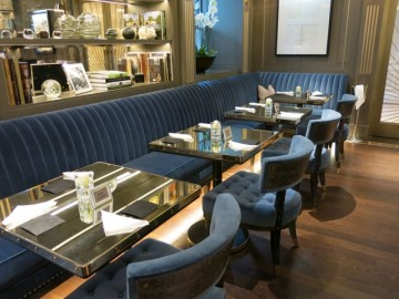 The Churchill Bar and Terrace at The Hyatt Regency London