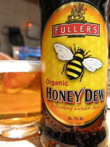 Fullers Organic Honey Dew Refreshing Golden Beer