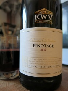 KWV Classic Collection Pinotage 2010