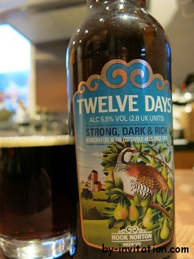 Hook Norton Twelve Days Strong Dark and Rich Beer