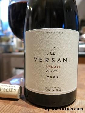 Le Versant Syrah Pays d'Oc 2009 Les Vignobles Foncalieu