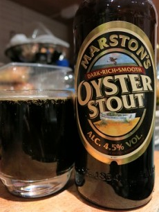 Marstons Dark Rich Smooth Oyster Stout