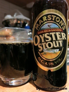 Marston's Dark Rich Smooth Oyster Stout