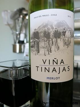 Viña Tinajas Merlot 2012 from Valle del Maule Chili