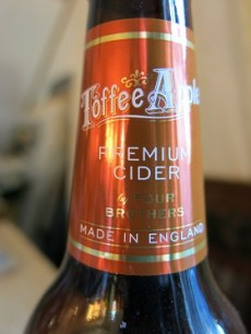 rothers Toffee Apple Premium Pear Cider Neck