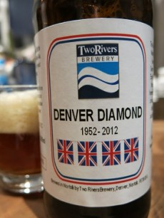 Two Rivers Brewery Denver Diamond Real Ale