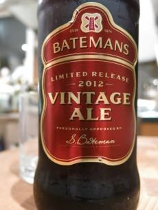 Batemans Vintage Ale Limited Release 2012