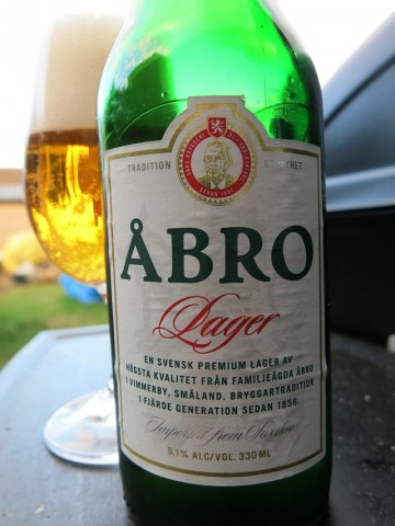 Åbro Premium Lager Transported From Sweden