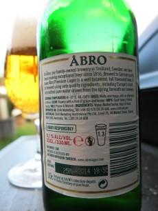 Åbro Premium Lager Label
