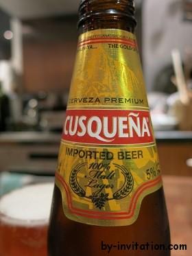 Cusqueña Cerveza Premium Imported Beer