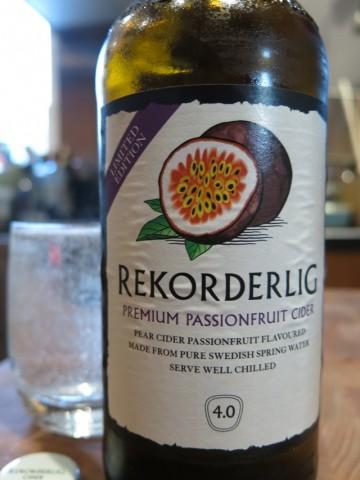 Rekorderlig Premium Passion Fruit Cider
