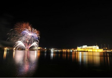 Malta International Fireworks Valletta