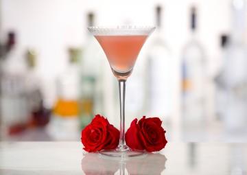 Cherry Blossom Kiss Cocktail