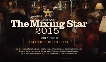 The Mixing Star 2015 With Disaronno