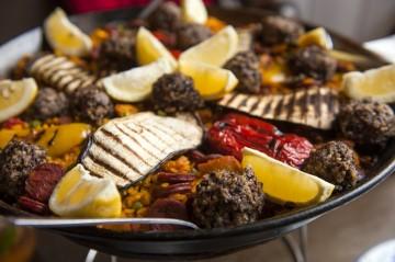 Haggis Paella and Irn Bru Sangria- La Tasca Spanish and Scottish Fusion