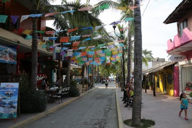 Mexico Riviera Nayarit Sulita Town