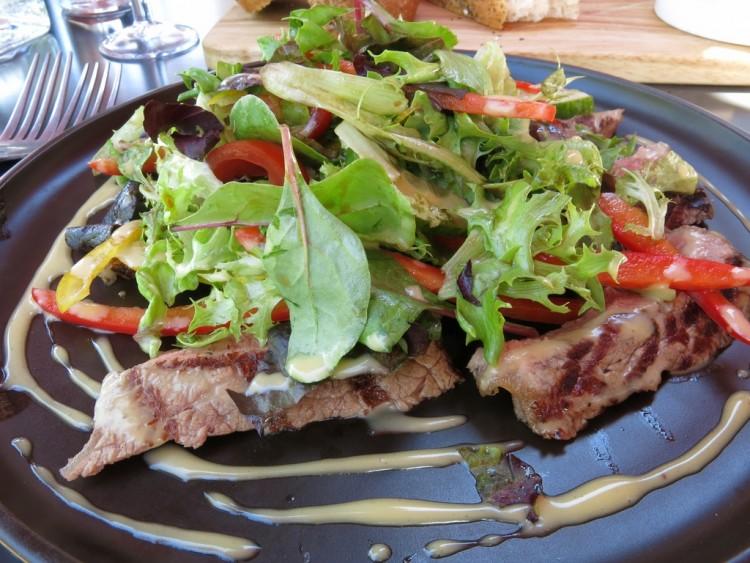 Riverside Brasserie  Bray Beef Strips