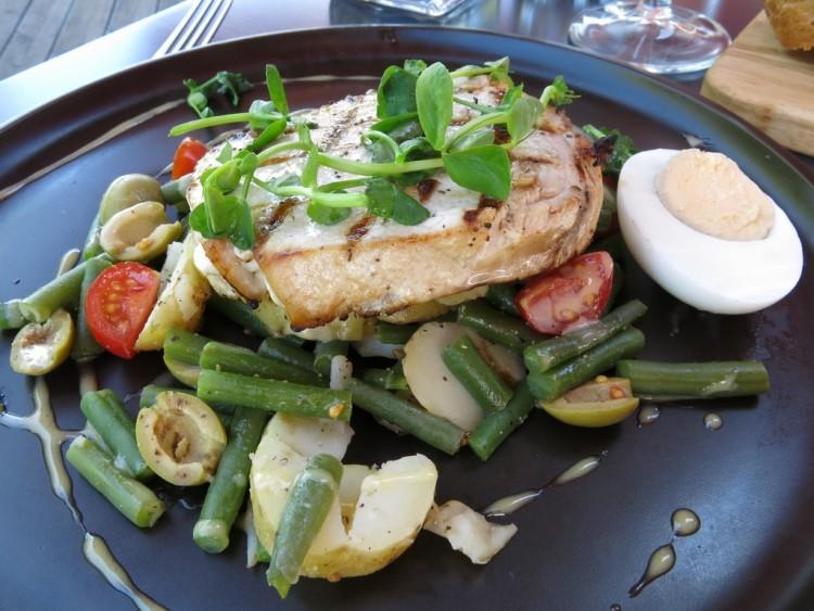 Riverside Brasserie Bray Swordfish Nicoise