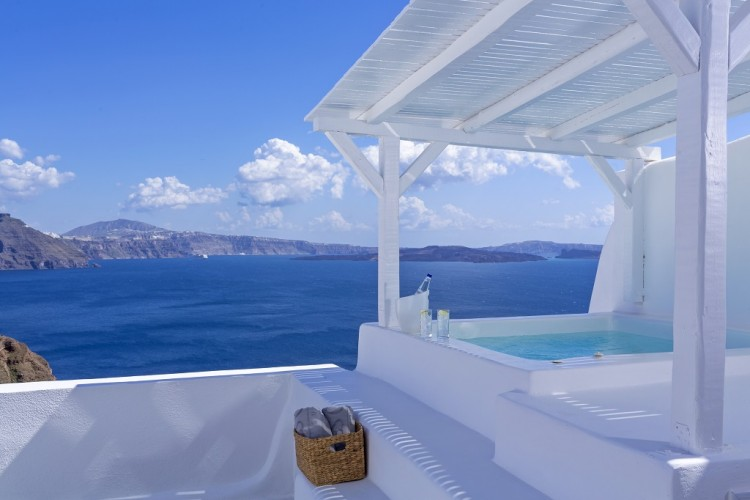 Canaves Oia Honeymoon Suite View