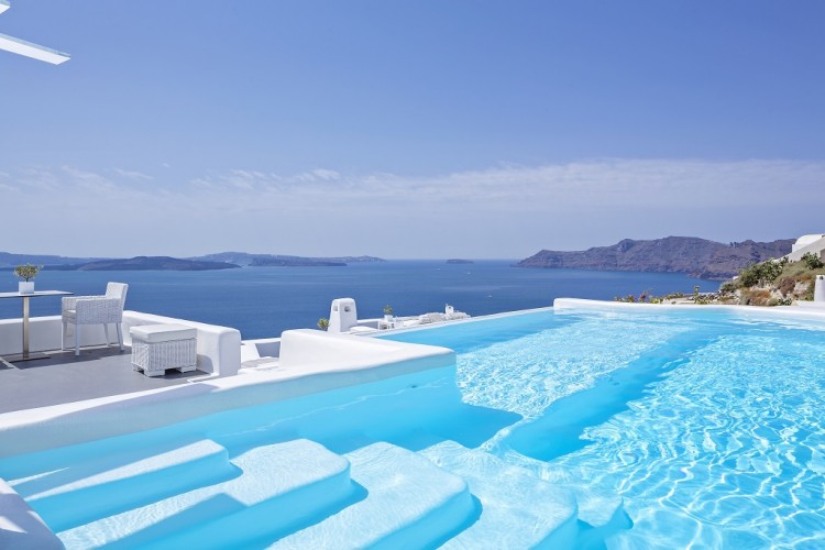Canaves Oia Hotel New Infinity Pool