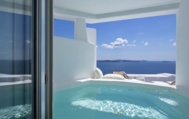 Canaves Oia Suite View