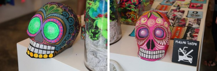 Mexico Day Of The Dead Skulls
