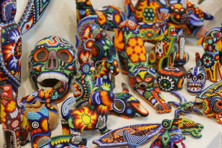 Mexico Day of The Dead Bead Art