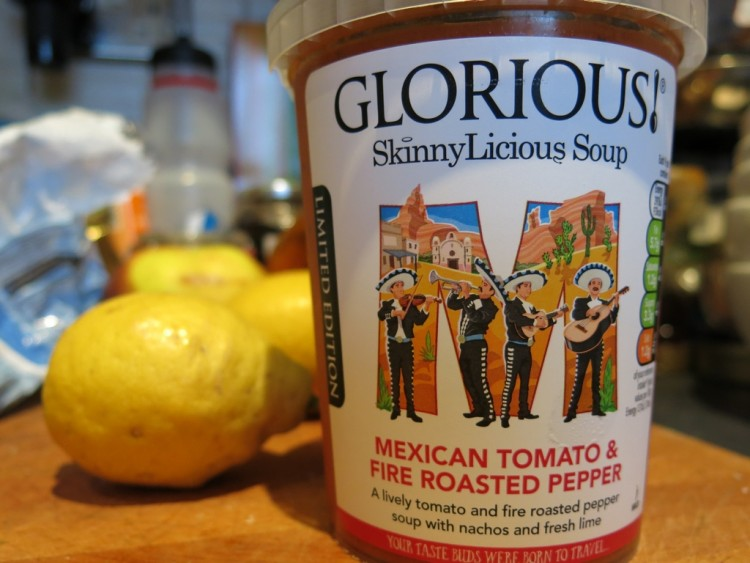 Glorious Soup Mexican Tomato Fire Roasted Peppers