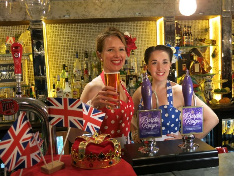 Greene King Purple Reign Bar Maids