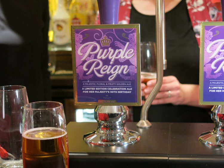 Greene King Purple Reign On Tap
