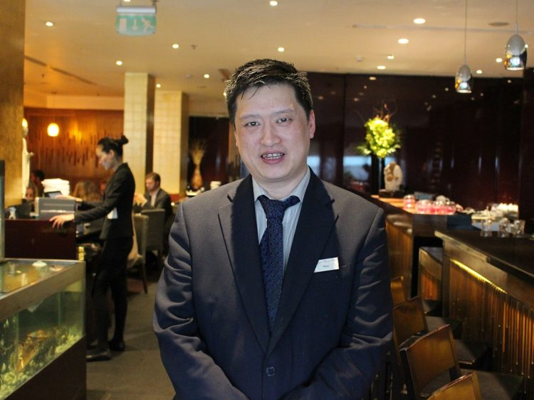 Peter Chan at Royal China Club Wine Pairing