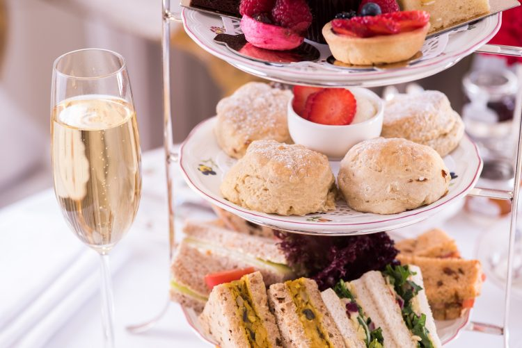 The Egerton House Hotel Vegan Afternoon Tea