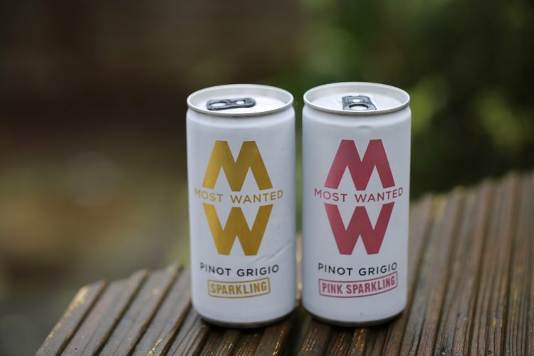 Most Wanted Pinot Grigio Pull Ring Cans