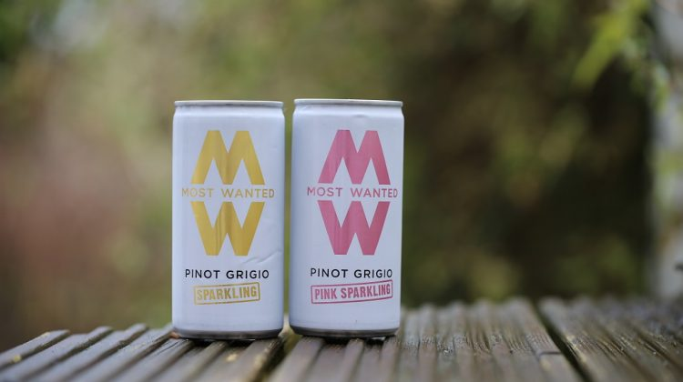 Sparkling Pinot Grigio in a can? And It's Most Wanted!