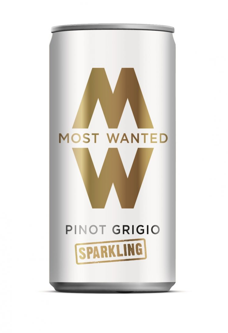 Most Wanted Sparkling Can front view
