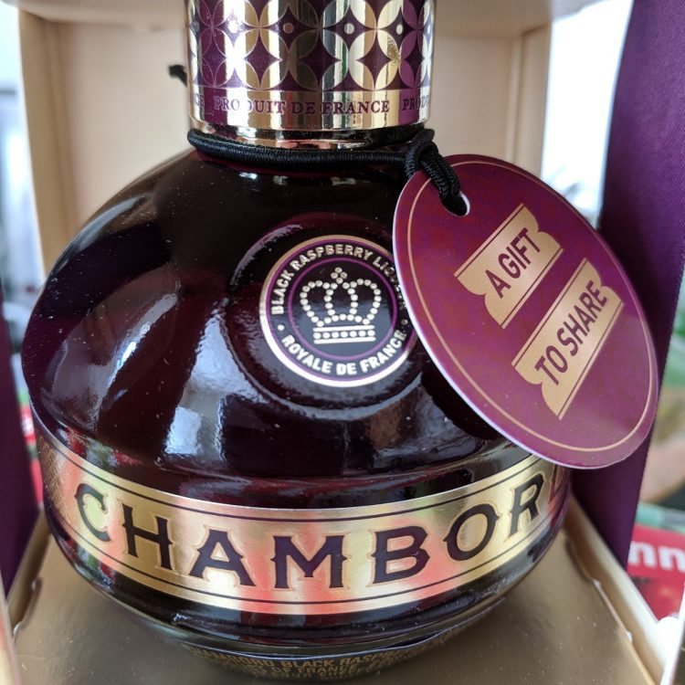 Chambord Gold Gift Box